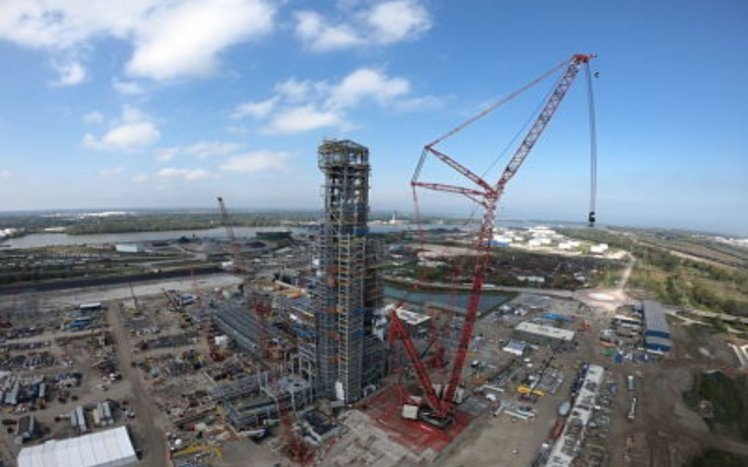 Cleveland-Cliffs Inc. completes 457-foot furnace reactor tower