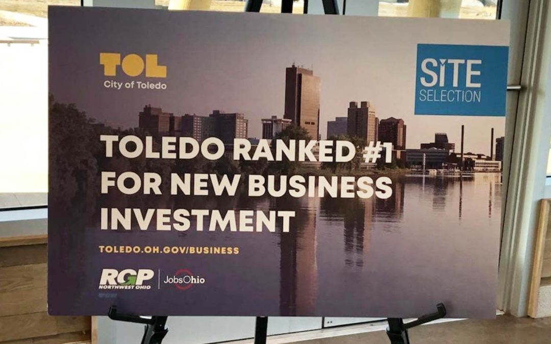 Toledo Ranked No. 1 in Site Selection Governor's Cup Awards
